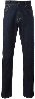 Stella McCartney raw straight leg jeans