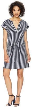 True Grit Dylan by Montauk Stripes Tunic Dress Women's Dress