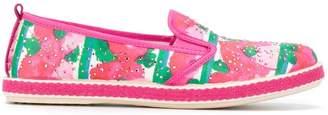 Mi Mi Sol floral print slip-on sneakers