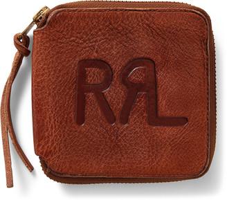 Ralph Lauren Tumbled Leather Zip Wallet