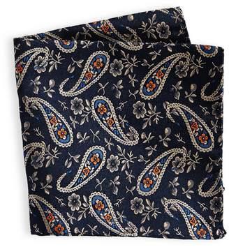 Sondergaard Paisley Floral-Print Pocket Square