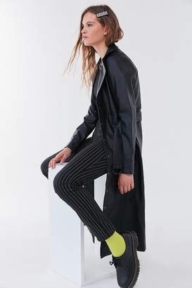 Urban Outfitters Faux Leather Trench Coat