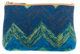 Missoni Wool Chevron Pouch w/ Tags