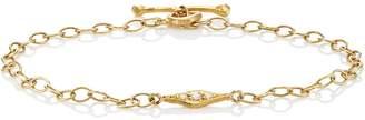 Cathy Waterman Women's Little Leaf Bracelet