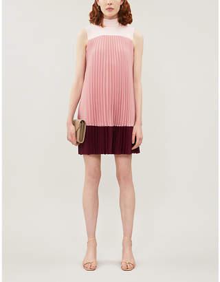 Ted Baker Ombraya pleated woven mini dress