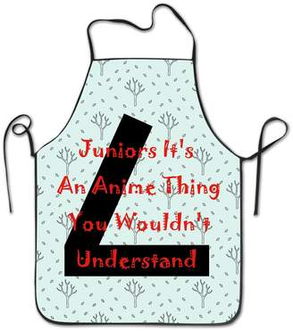 NINGDUM Juniors It's An Anime Thing Kitchen Cooking BBQ Apron