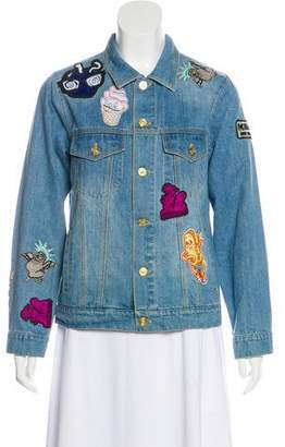 Kenzo Badges Denim Jacket