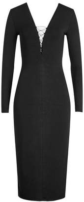 Alexander Wang Dress with Lace-Up Detail