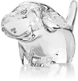 Baccarat Crystal Dog