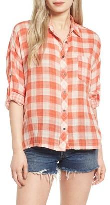 Women's Rip Curl Clemente Cotton Shirt $49.50 thestylecure.com