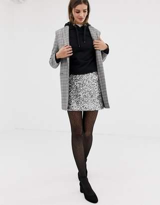 Jack Wills sequin mini skirt