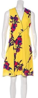 Proenza Schouler Silk Floral Print Dress w/ Tags