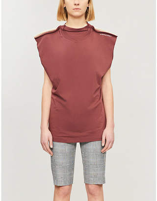 Y/Project Layered cotton-jersey T-shirt