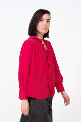 Sea Solange Ruffle Blouse