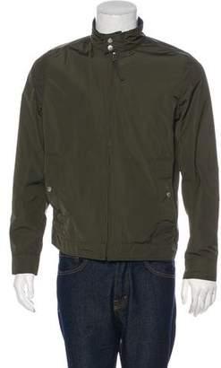 Jack Spade Woven Zip Harrington Jacket