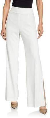 Elie Tahari Haidee Side-Slit Pants