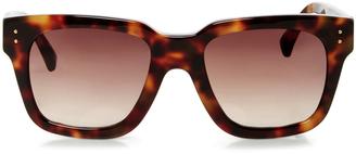 Linda Farrow Chunky Rectangular Sunglasses $540 thestylecure.com