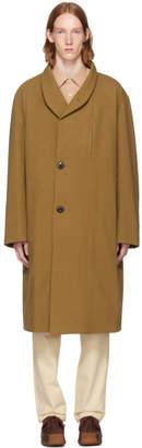 Lemaire Brown Kaftan Coat