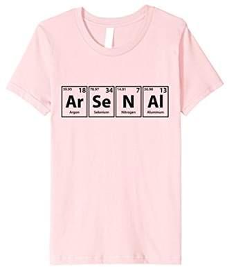 Ar-Se-N-Al Periodic Table Elements Spelling T-Shirt