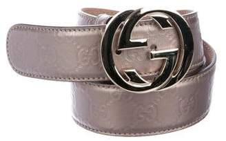 Gucci Guccissima GG Belt