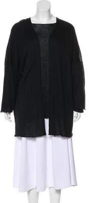 eskandar Linen-Blend Cardigan
