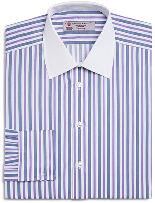 Turnbull & Asser Stripe French Cuff Classic Fit Dress Shirt - 100% Exclusive $365 thestylecure.com
