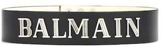 Balmain Embellished leather belt