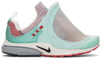 Comme des Garcons Blue Nike Edition Air Presto Foot Tent Sneakers