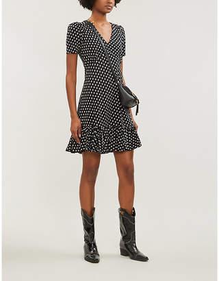 MICHAEL Michael Kors Dot-patterned stretch-jersey dress