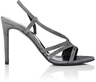 Barneys New York Women's Suede Slingback Sandals