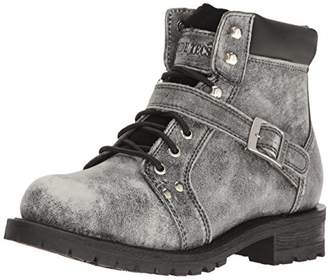 "Ride Tec Men's 9143SBK 6"" Stonewash Zipper Lace Boot Work"