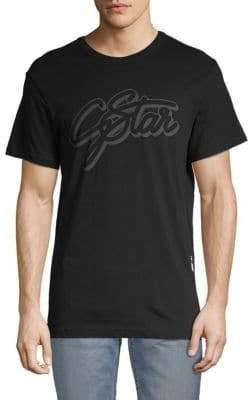 G Star Logo Cotton Tee