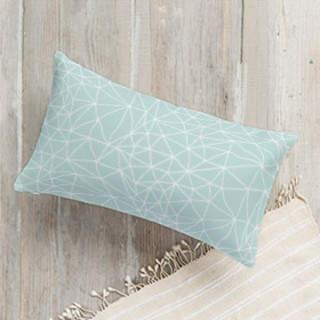 Geometric Net Lumbar Pillow