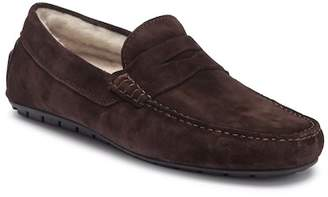 To Boot Norse Penny Loafer with Genuine Shearling