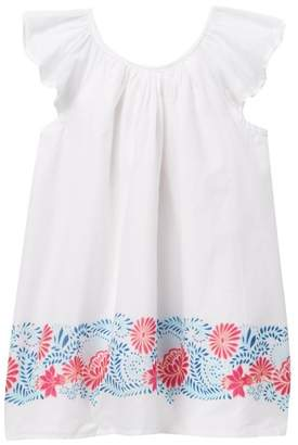 Joe Fresh Border Print Dress (Baby Girls)