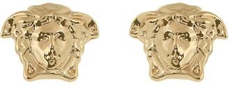 VERSACE Medusa stud earrings $107 thestylecure.com