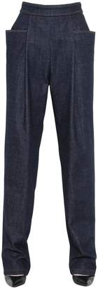 J.W.Anderson High Waisted Stretch Cotton Denim Jeans