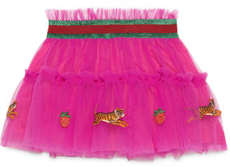 Baby tulle skirt with embroideries $475 thestylecure.com