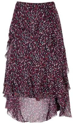 Joie Brigida Printed Silk Skirt