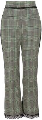 MSGM Check trousers