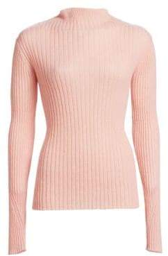 Rag & Bone Donna Mohair Blend Turtleneck Sweater