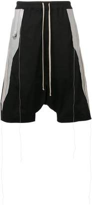 Rick Owens drop-crotch shorts