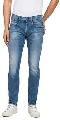 Replay Men's Anbass Slim Jeans, (Mid Blue Denim 10), W31/L32