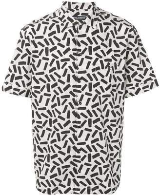 Dolce & Gabbana abstract print shirt