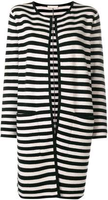 Max Mara striped longline cardigan