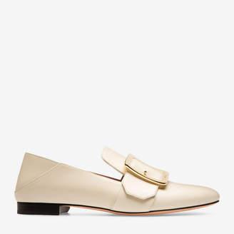 Bally Janelle White, Women's calf leather slipper in bone