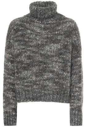 Brunello Cucinelli Mohair and cashmere-blend sweater