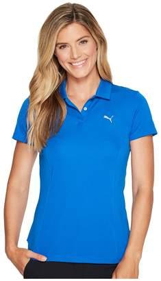 Puma Pounce Polo Women's Short Sleeve Pullover