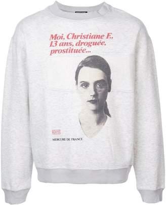 Enfants Riches Deprimes front print sweatshirt