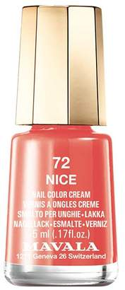Mavala Mini Color, Cream Finish Nail Polish Nice Number 72, 0.17 Ounces